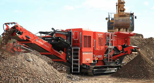 Terex Finlay J-960 Jaw Crusher