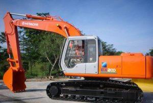 Hitachi EX200 20.5 Tonne Large Excavator