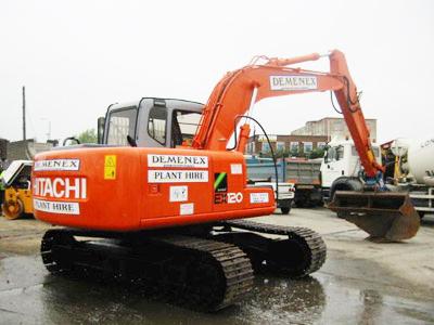 Hitachi EX120 (12.5 Tonne) Large Excavator