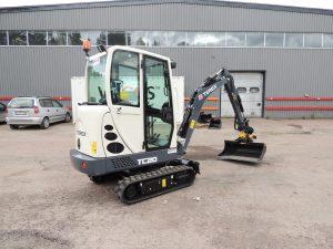 Terex TC15 Mini Excavator