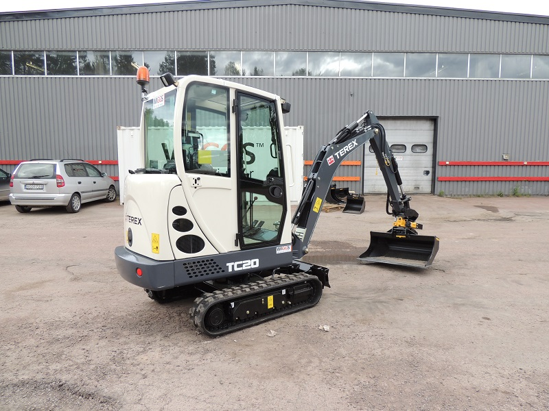 Terex TC15 Mini Excavator