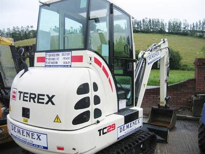 Terex 3.0 Tonne Midi Excavator