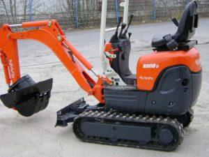 Kubota K008 Micro Excavator
